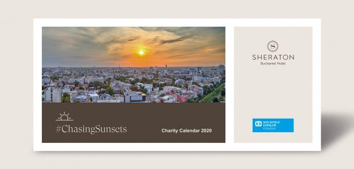 Sheraton Bucharest Hotel doneaza cele mai frumose apusuri Organizatiei SOS Satele Copiilor Romania