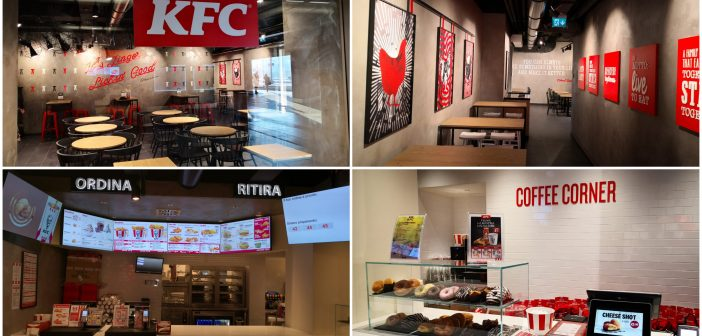 KFC își extinde rețeaua de restaurante din Italia, prin deschiderea unei noi locații în Roma