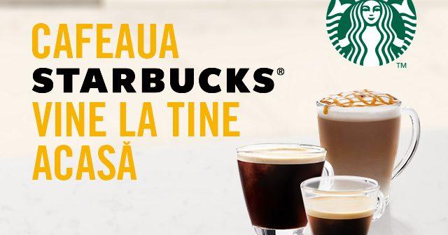 Cafeaua Starbucks® vine la tine acasă. Nestlé lansează pe piața de cafea din România noua gamă de produse Starbucks®
