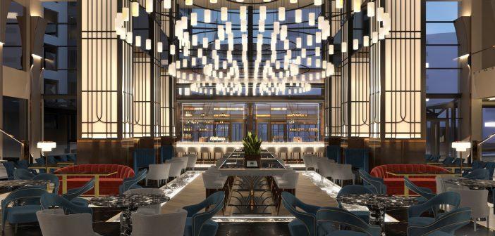 Hotelul Radisson Blu București anunță o transformare grandioasă a zonei de lobby și de grădină