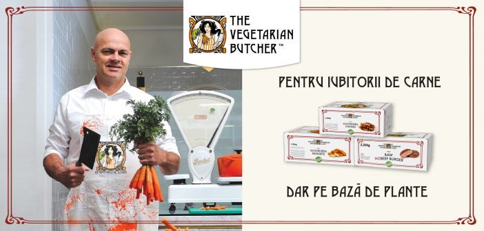 Lansare The Vegetarian Butcher în România